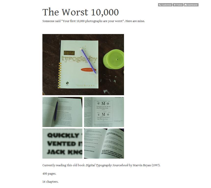 The Worst 10,000 (photographs)